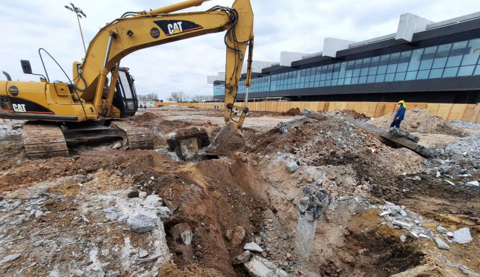 Excavaciones y movimientos de tierras